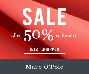 Marc O'Polo: Alle Sale-Artikel 50% reduziert