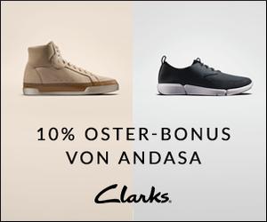 Ostern steht vor der Tür - Mit 10% Cashback bei Clarks in deinem Bonuskonto!