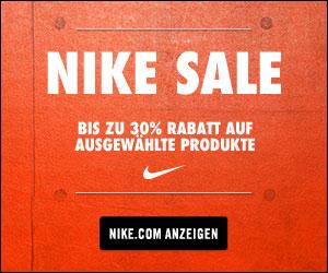 End of Season Sale bei NIKE mit bis zu 30%