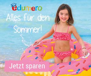 Alles für den Sommer: 7€ Gutschein bei edumero!