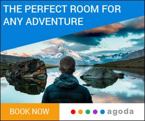 Jetzt das passende Hotel mit Agoda für dich finden! 4% Bonus bis 28.2.!