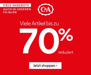 Sommer Rabatte bei C&A - bis zu 70% Rabatt!