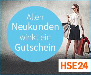 Bei HSE24 winkt allen Neukunden ein 10€ Gutschein!