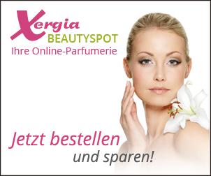 3€ Rabatt auf deine Bestellung bei Xergia Beautyspot