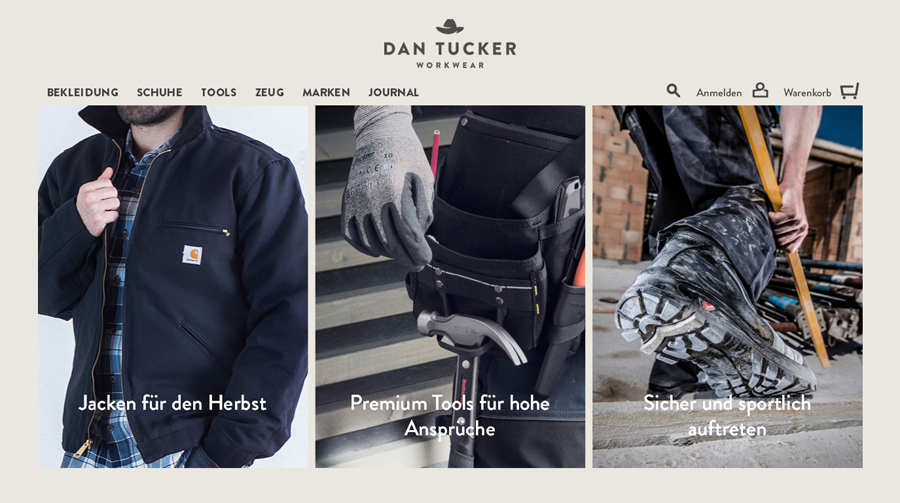 Dan Tucker Workwear Gutschein