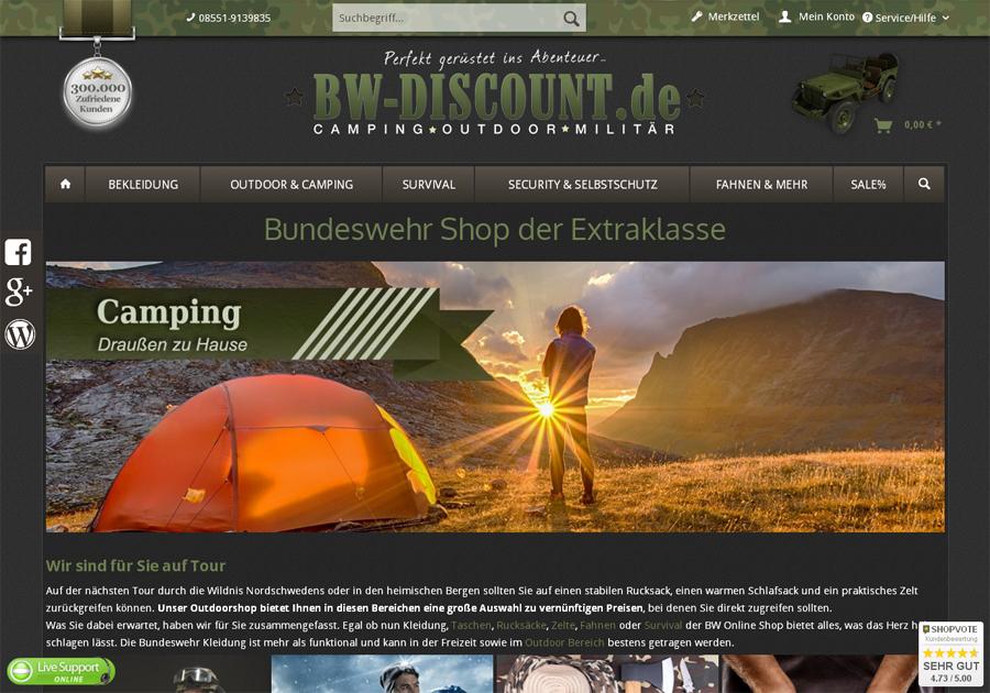 Bw-discount.de Gutschein