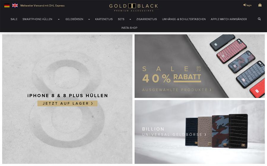 GOLDBLACK Gutschein
