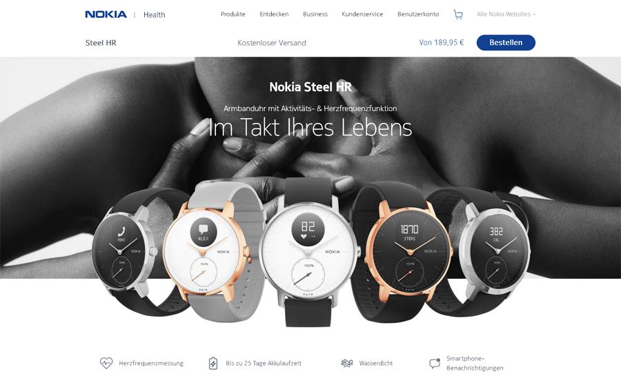 Nokia Health Gutschein