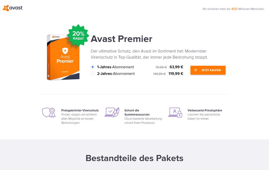 Avast Software Gutschein