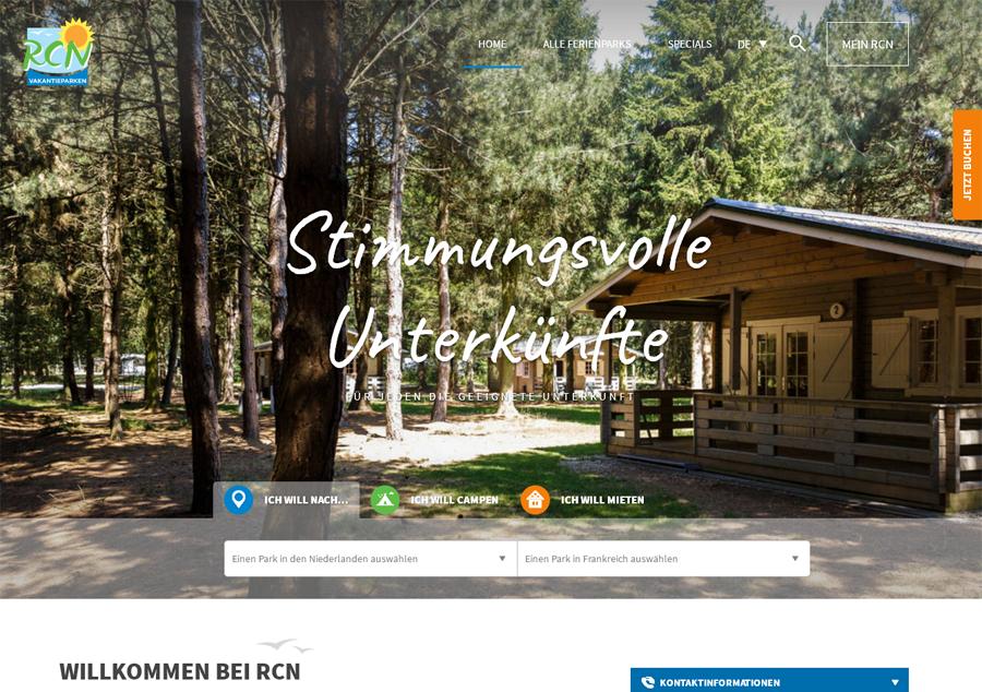 RCN vakantieparken DE Gutschein