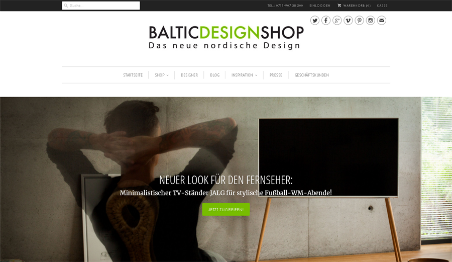 Baltic Design Shop Gutschein