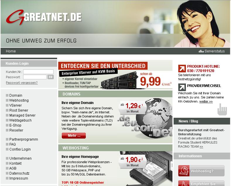 Greatnet.de DSL Gutschein
