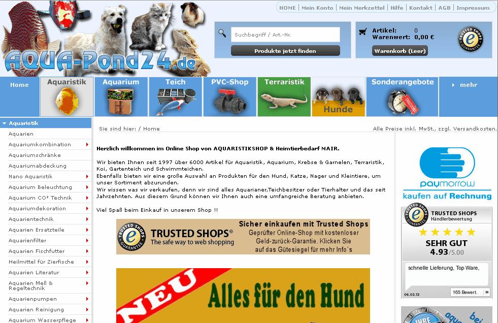 Aqua-Pond24 Gutschein