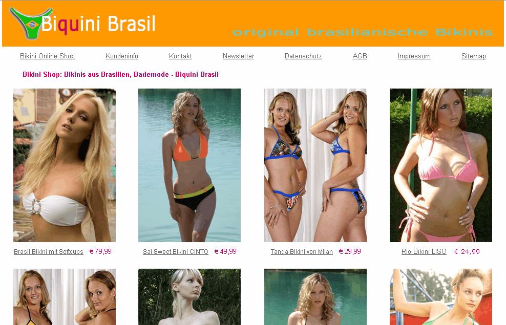 Biquini Brasil Gutschein