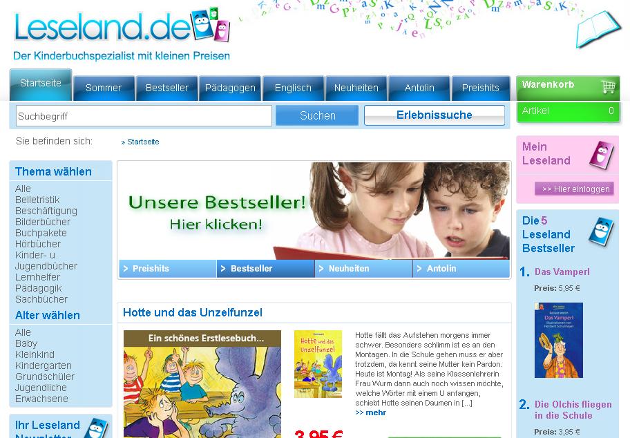 leseland.de Gutschein