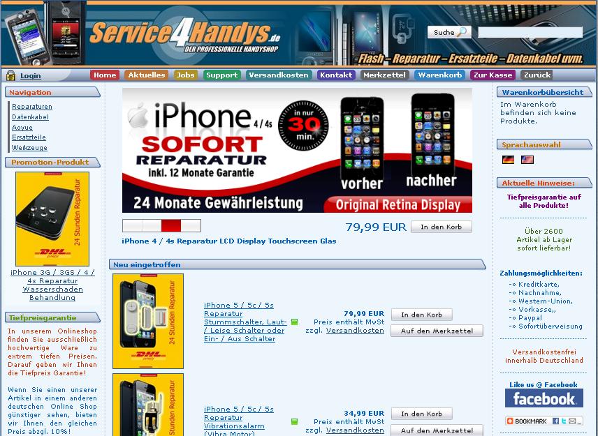 Service4Handys Gutschein