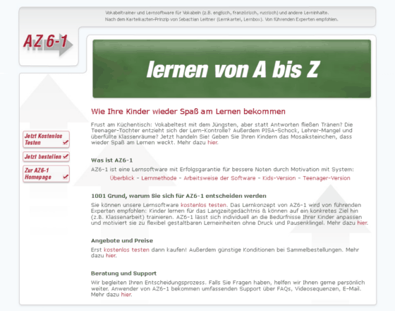 AZ6-1 Gutschein