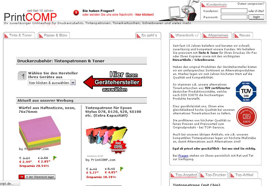 Printcomp.com Gutschein