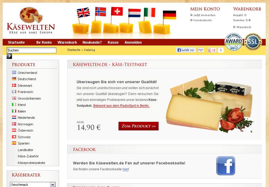KäseWelten Gutschein