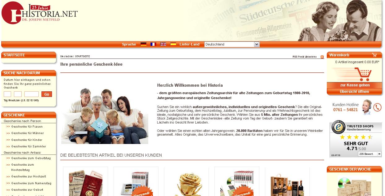 Historia.net Gutschein