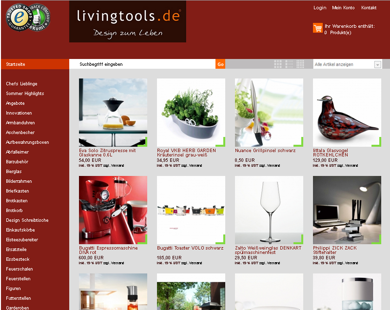 livingtools.de Gutschein