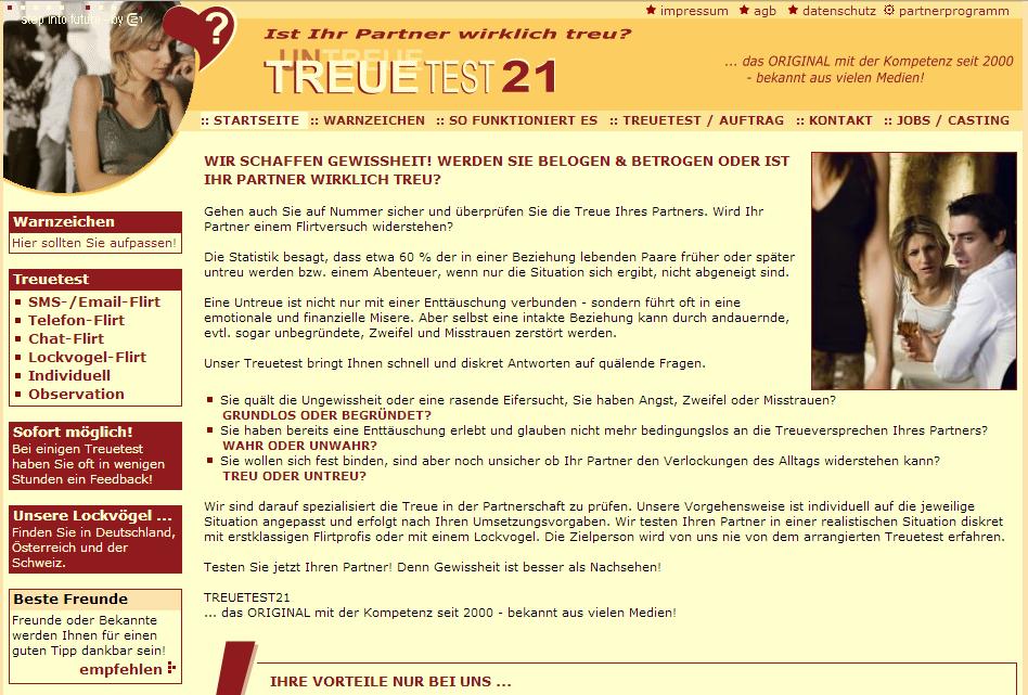 Treuetest21.com Gutschein