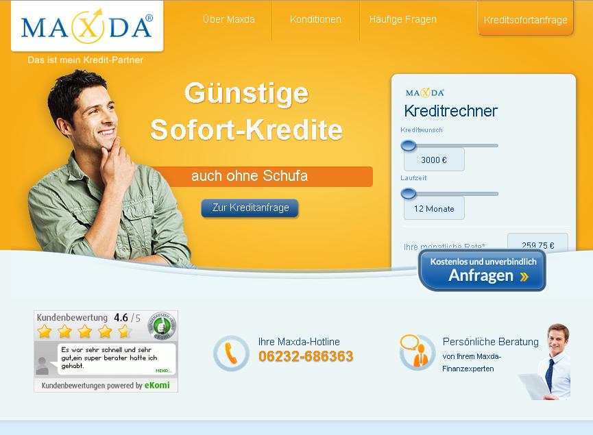 maxda.de Gutschein