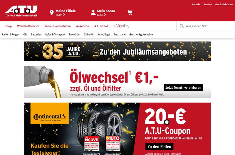ATU Auto-Teile-Unger Gutschein