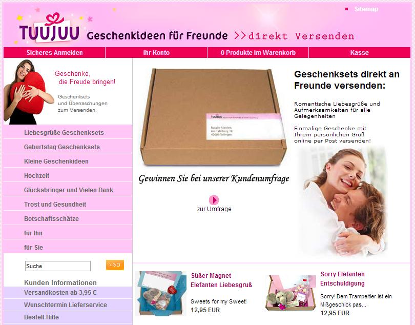 Tuujuu.com Gutschein