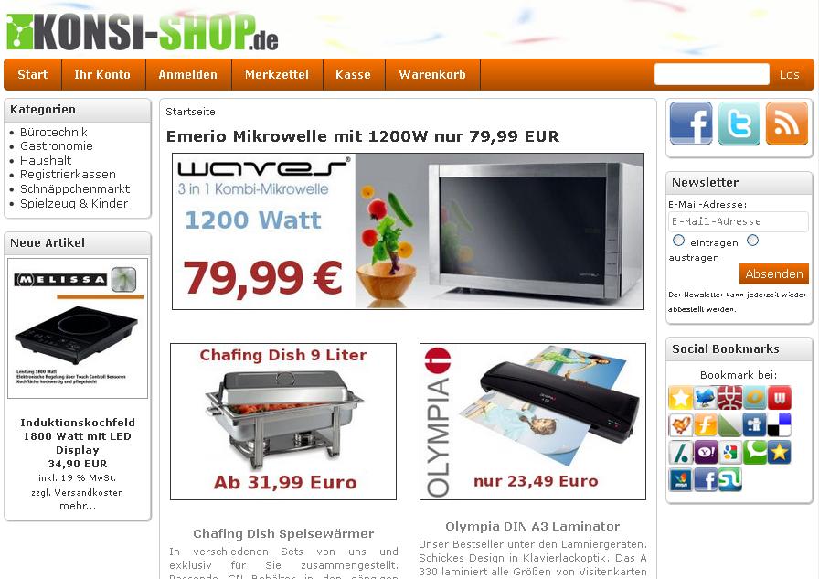 KONSI-SHOP.de Gutschein