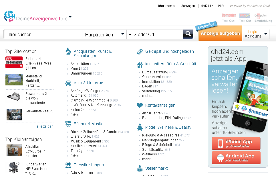 dhd24.com Gutschein