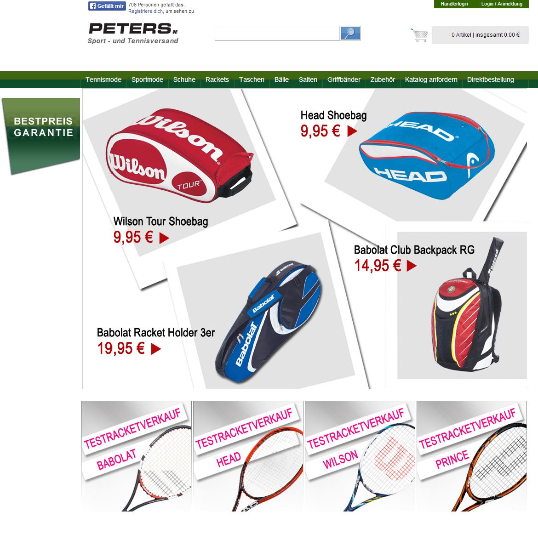 Tennis-Peters Gutschein