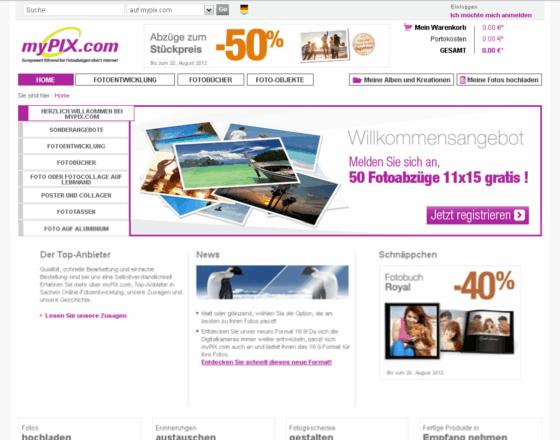 myPIX.com Gutschein