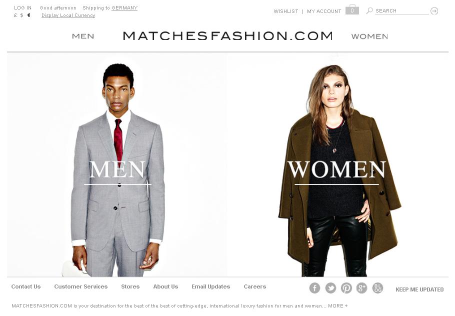 Matches Fashion Gutschein