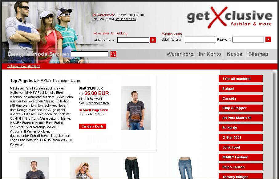 get- X- clusive Gutschein