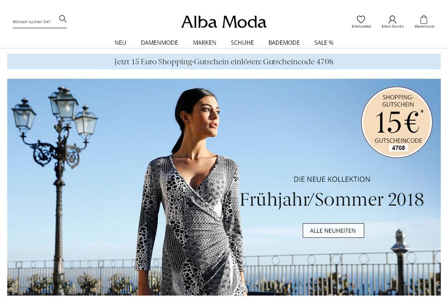 Alba Moda AT Gutschein