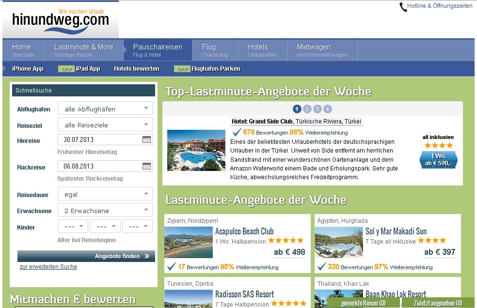 hinundweg.com Gutschein