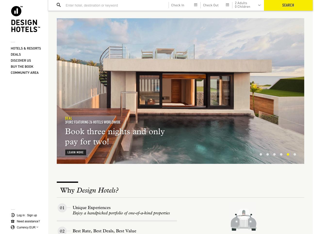 designhotels.com Gutschein