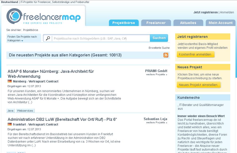 freelancermap.de Gutschein