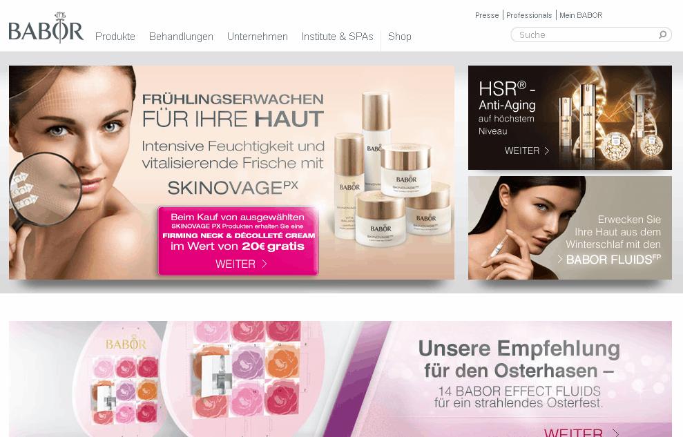 Babor Cosmetics Gutschein