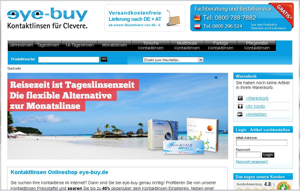 eye-buy.de Gutschein
