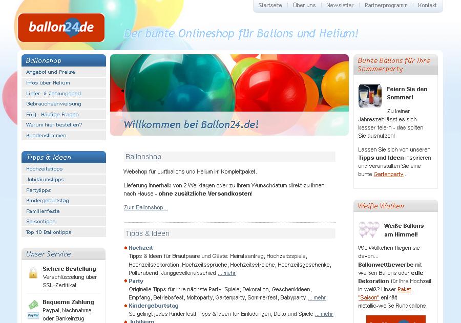 ballon24.de Gutschein