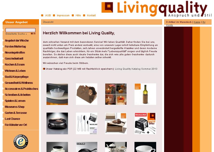 Living Quality Gutschein