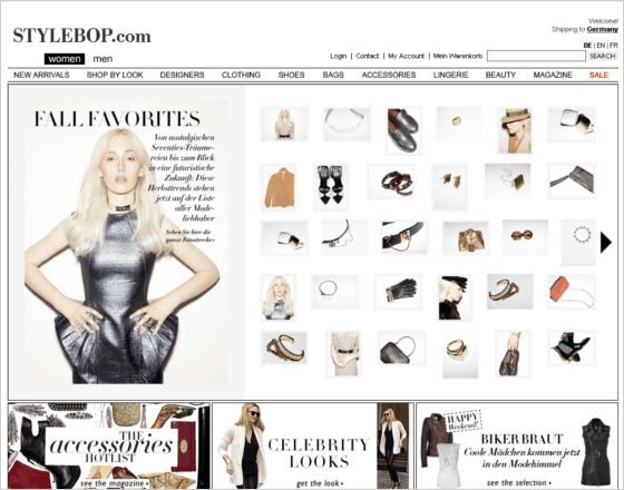Stylebop.com Gutschein