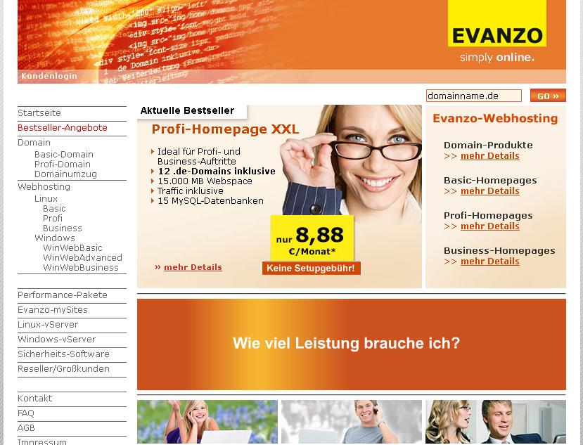 evanzo.de Gutschein