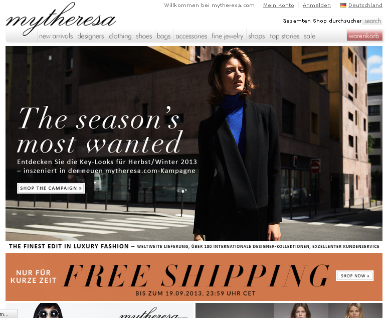 Mytheresa.com Gutschein