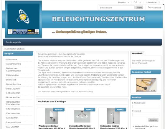 Beleuchtungszentrum Gutschein