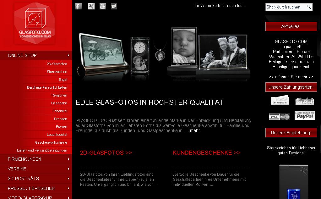 Glasfoto.com Gutschein