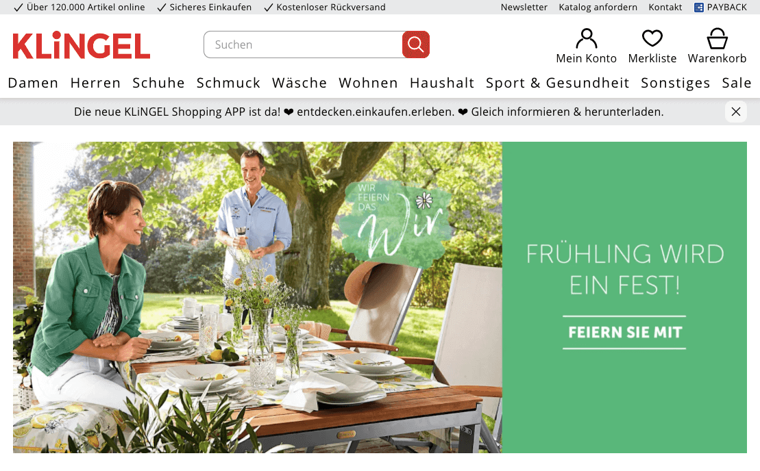 bcc32c3d2faf5b Klingel 10€ Cashback Gutschein - 2019 garantiert gültig