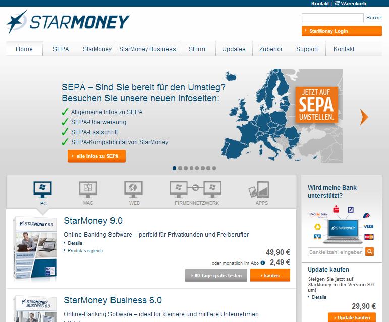 StarMoney  - ehem. Star Finanz Gutschein